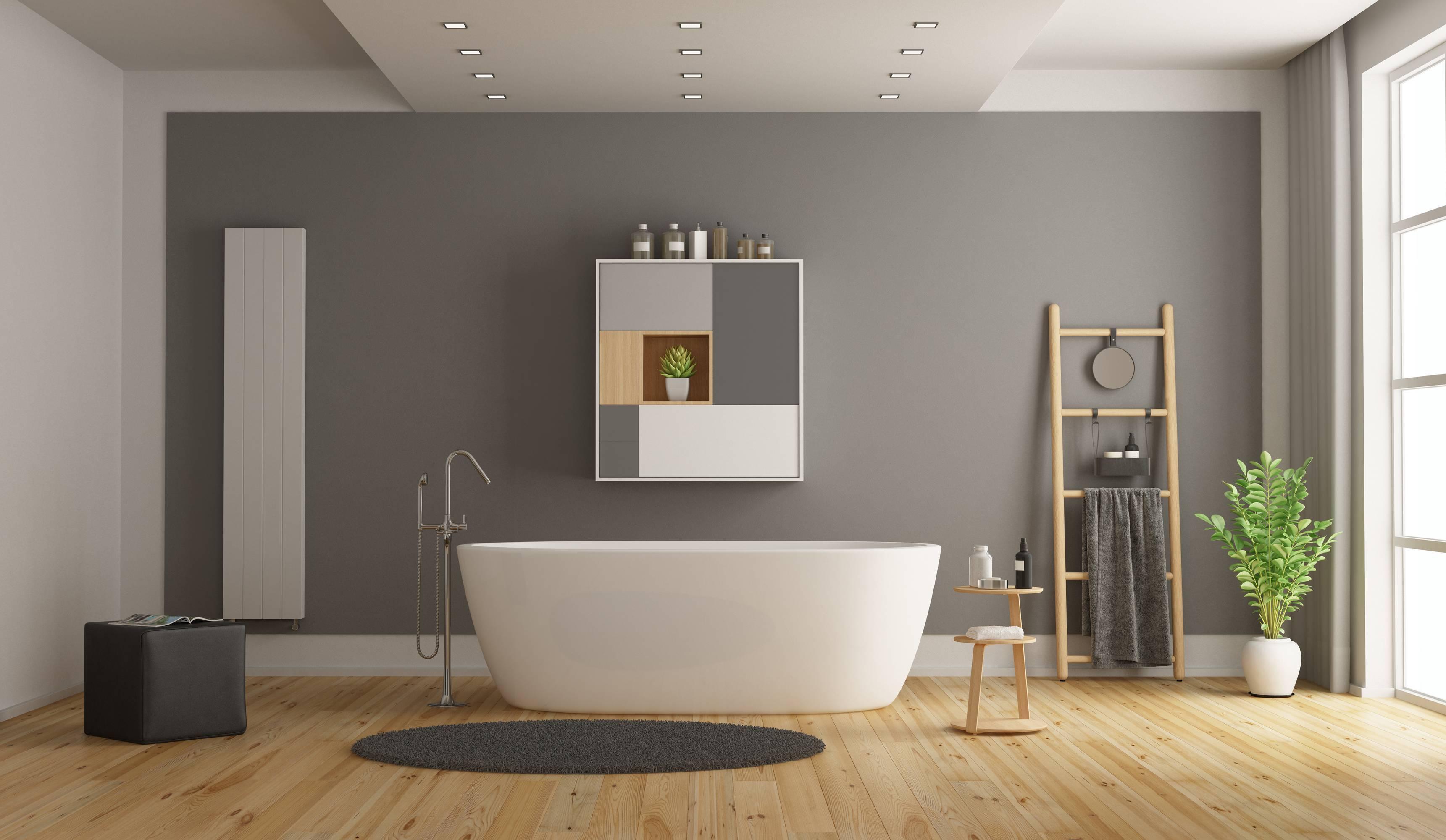 Bodenbelag Badezimmer – Es müssen nicht immer Fliesen sein ...